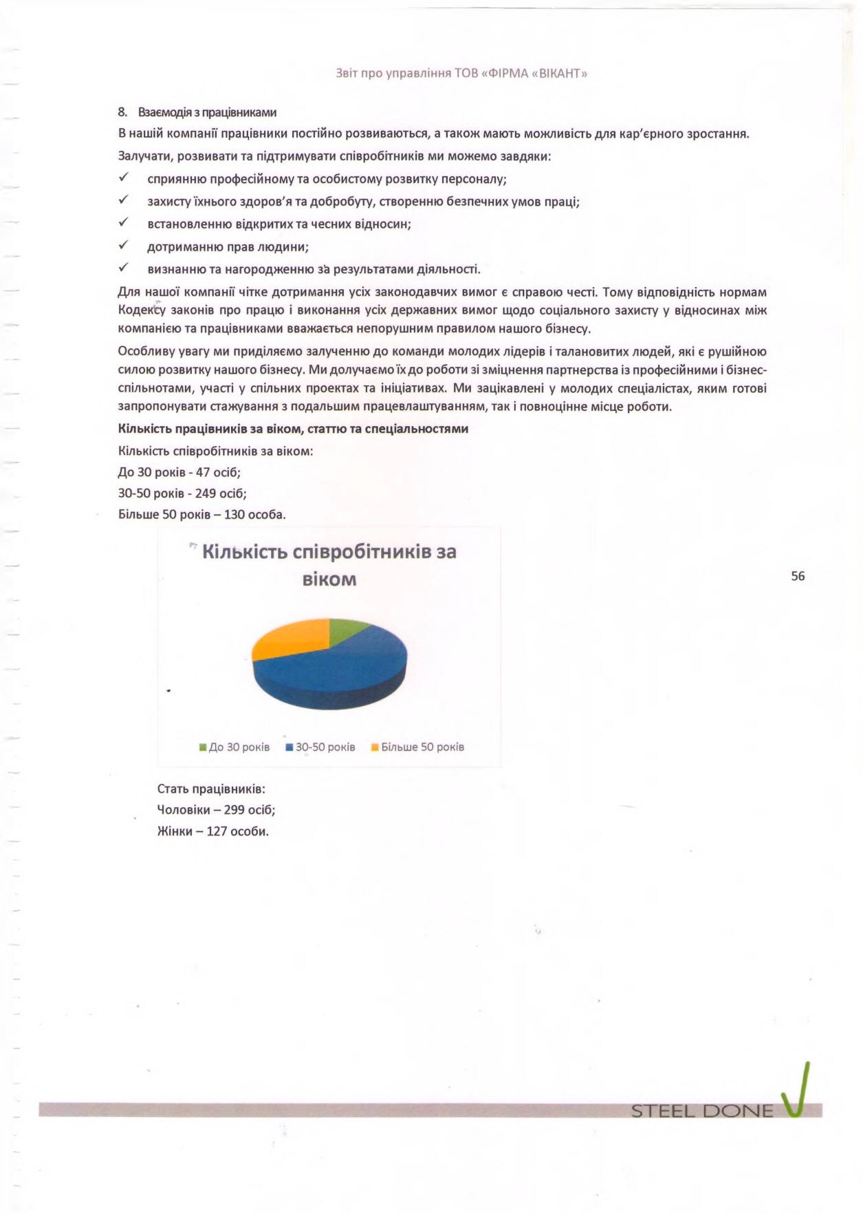 Финансовая отчётность Викант 2020 год